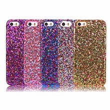 Luxury Fashion Candy Sparkling Phone Case Cover Crystal Bling For iPhone 5 5G 5S iPhone SE via China Post Registered Air Mail