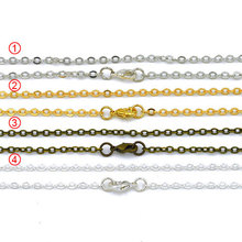 YA0712 Jewelry Findings Chain Clasp Necklaces Gold /Silver color plated(China)
