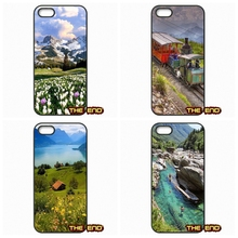 Top Places To Travel In Switzerland Cell Phone Case Cover For iPhone 4 4S 5 5C SE 6 6S 7 Plus Galaxy J5 A5 A3 S5 S7 S6 Edge