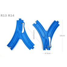 D527 Thomas harmony emu train special rail toy accessories (16 cm curved track)4pcs/LOT(China)