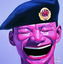 Smiling Face Yinjun Yue Chinese Famous contemporary painter Canvas Modern Paintings Abstract Art Pictures all Oil Painting 95(China)