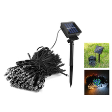 1Set IP65 Waterproof Novelty Lighting LED Solar Lamps 7M/12M/22M Night light for Garden Decor Lighting(China)