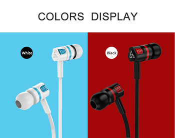 Musttrue Professional Earphone Super Bass Headset with Microphone Stereo Earbuds for Mobile Phone Samsung Xiaomi fone de ouvido 6