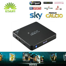 R68 Android TV Box 2GB 16GB with one year Super IPTV 1500+Europe Channels HotClub XXX Italy German Spain Belgium France Romania