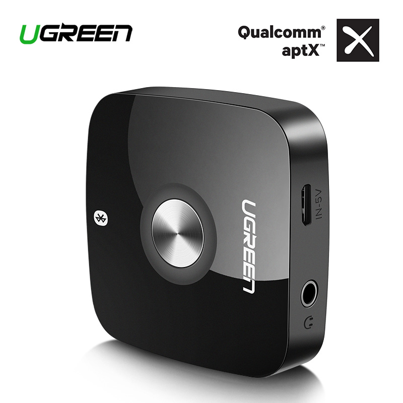 Ugreen Wireless Bluetooth Receiver 4.2 3.5mm jack aptx Aux 3.5 Music Receiver Bluetooth HiFi Audio Adapter Car Blutooth Receptor(China)