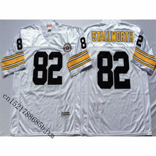 Mens Retro John Stallworth Stitched Name&Number Throwback Football Jersey Size M-3XL(China)