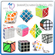 Mini Qute Professional Speed Fantasy 3x3x3 Magic Cube Keyring Puzzle Keychain Speed Toy Three Layers Magic Cubes educational toy