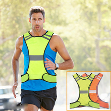 Free Shipping High Quality High Visibility Reflective Vest Security Equipment Night Work New Arrival Tops(China)