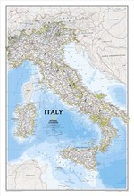 "Top fashion RM-DT-100 vintage wall art oil painting print on canvas about ""ITALY MAP"" wall pictures for living room home decor(China)"