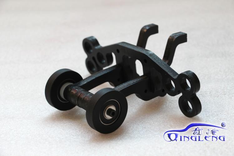 TRAXXAS Summit EREVO E-REVO Double Wheel Wheelie Bar Silent Castor 1/10 as Replacement Of 5472  <br><br>Aliexpress