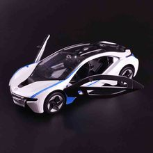 For  BMW I8 scale 1:32 Competitive luxury open door car