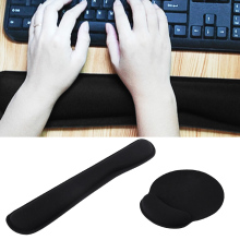 Vococal Memory Foam Keyboard Wrist Elbow Support Rest Gaming Pad with Mouse Pad for Computer Laptop Notebook Csgo Cs Go Dota