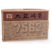 2006yr 250g 7562 Brick  Box Authentic Vintage Brick Dayi Ripe Tea TEATAE Pu'er Tea Big Benefits of Cooked Batch