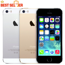 100% Original Hot Sale Apple iphone 5S Cell Mobile phone LTE Dual core Unlocked 32GB/64GB ROM 8MP IOS GPS WIFI Multi-language
