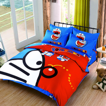 2017 new winter bedding sets cartoon Hello Kitty soft child duvet cover pillowcase Fitted sheet / bed sheet 4pcs Queen Twin size