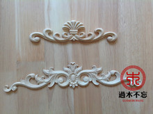 Don't forget the wooden Dongyang wood carving wood window applique flower bed European fireplace drawer Decal Decals(China)