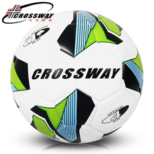 2017 CROSSWAY  Hot Sale A+++ High Quality Green/Orange 2 colors  Size 4 PU Soccer Ball Football Ball for Match Training ball