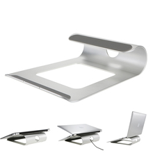 Aluminum Laptop Stand Desk Dock Holder Bracket Cooler Cooling Pad for MacBook Pro/Air/iPad/iPhone/Notebook/Tablet/PC/Smartphone(China)