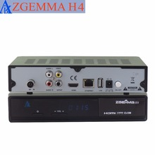 5 pcs/lot zgemma H4 picture in picture cable tv decoder triple cable tuner 3 * dvb c