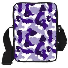 2017 Mini Men Messenger Bags Cool Camo Print Brand Kids Crossbody Bags Children Casual Travel Shoulder Tote Bags Bolosa