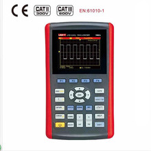 "UNI-T UTD1025CL 3.5"" LCD Handheld Digital Oscilloscope + Free Shipping by DHL/UPS/TNT/FedEx/EMS(China)"
