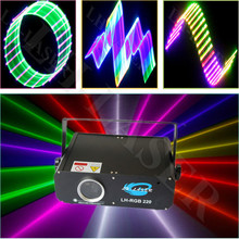 500mw Small professional stage lighting effect, SD Card laser show system With ILDA pc interface(China)