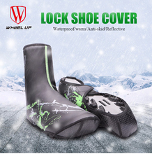 WHEEL UP New Winter PU Waterproof Cycling Shoe Covers Bicycle Warm Overshoes Fundas Riding Equipment MTB Mountaint Road Bike - WenZiSport Store store