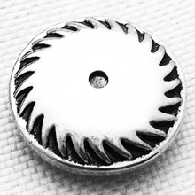 MN4015 Gear metal snap button jewelry welcome hot sale fit 18mm snaps(China)