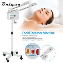 750W Facial Steamer Machine Cold & Hot Double-end Steamer Skin Cleaning Equipment for Salon Face Moisturizing Spray Device(China)