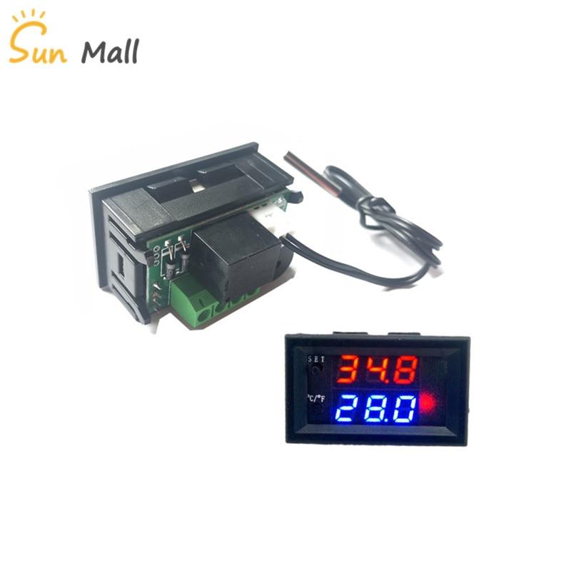 DC12V 50-110°C W1209WK Digital thermostat Temperature Control Smart Sensor New