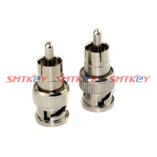 Details about  2pcs BNC Male to RCA Male Connector