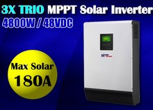 5KVA 4000w 48v 230vac Solar inverter Solar power inverter 180A mppt solar charger 60A battery charger, max solar power 9000w