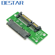 "3.5"" & 2.5 inch SATA 22Pin 7+15 Male to SATA 22P Female Extension Convertor Adapter PCBA"