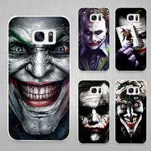 be serious joker Hard White Coque Shell Case Cover Phone Cases for Samsung Galaxy S4 S5 S6 S7 Edge Plus