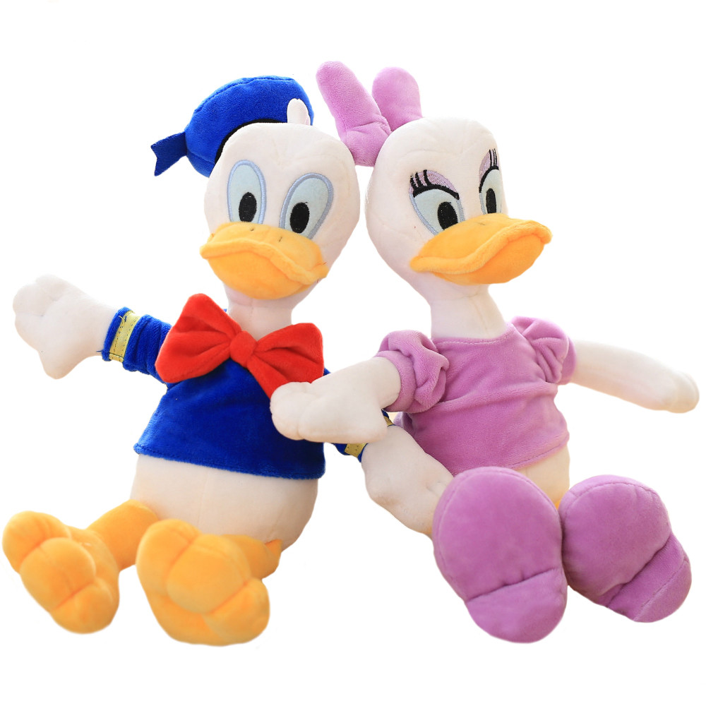 1pc-30cm-cute-duck-Donald-and-daisy-plush-toy-stuffed-soft-kawaii-animal-dolls-classical-children_