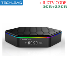 3GB 32GB Octa Core 4K Android TV Box with Swedish Netherlands IPTV Abonnement Arabic Albanian IT Channel Arabic France IUDTV m3u(China)