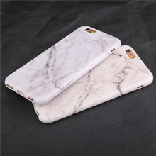 Fashion Marble Soft Tpu Skin Shell For iPhone SE Case For iphone 6 6s plus 7 7 plus Stylish Cute Unique Stone Phone Cases Cover(China)