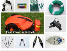 The Cheapest Robot Lwan Mower+Remote Control+Li-ion Battery+Auto Recharged