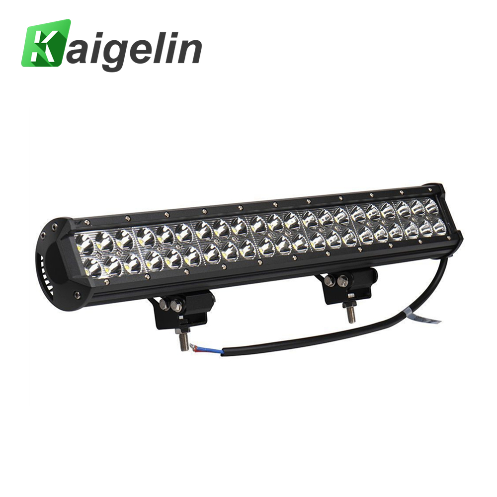3PCS 126W Spotlight 12600LM 12-24V Car Lights Bar LED Work light Flood Spot Light For SUV Truck Boating Hunting Fishing Outdoor<br>