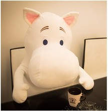 23CM Hot Sale Moomin Hippo Plush Toy Stuffed Doll Little Fertilizer Valentine Gift Promotional Toy Christmas Gift for Kids PT030