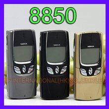 Nokia 8850 Mobile Phone 2G GSM 900/1800 Unlocked Original 8850 Cell Phone Arabic Russian English Keyboard(China)