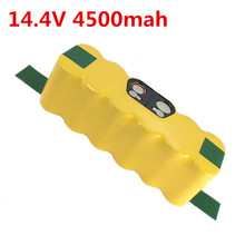 14.4V 4500mah NI-MH APS Vacuum Battery for iRobot Roomba 500 530 510 550 560 570 540 R3 780 790 880 Battery Robotics