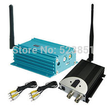2.4G 2W long range wireless video and audio transmitter, transmitting distance 4000m for CCTV System