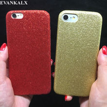 Buy EVANKALX Bling Glitter Soft Phone Case iPhone 7 8 6 6S Matte Shining Back Cover iPhone 6 6s 7 8 Plus Capa for $2.84 in AliExpress store