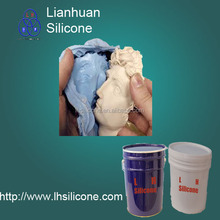 Gypsum/plaster molds casting silicone rubber of RTV2 liquid silicone(China)