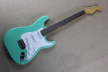 . Factory price Custom Body artist signature SSS Stratocaster seymour duncan pickups electric guitar .