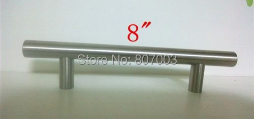 (Diameter 12mm,Length:200mm) 8 25pcs/lot Furniture Hardware Kitchen Cabinet Handle, Bar Pull Handle Stainless Steel T Handles<br><br>Aliexpress