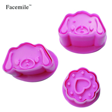 Garfield Dog Cookie Biscuit Cutter Stencil Stamp Press Fondant Cake Tool Baking Cookies Mold Chocolate DIY Bakeware Tool