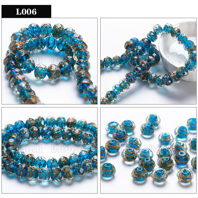 Glass Lampwork Beads (6)