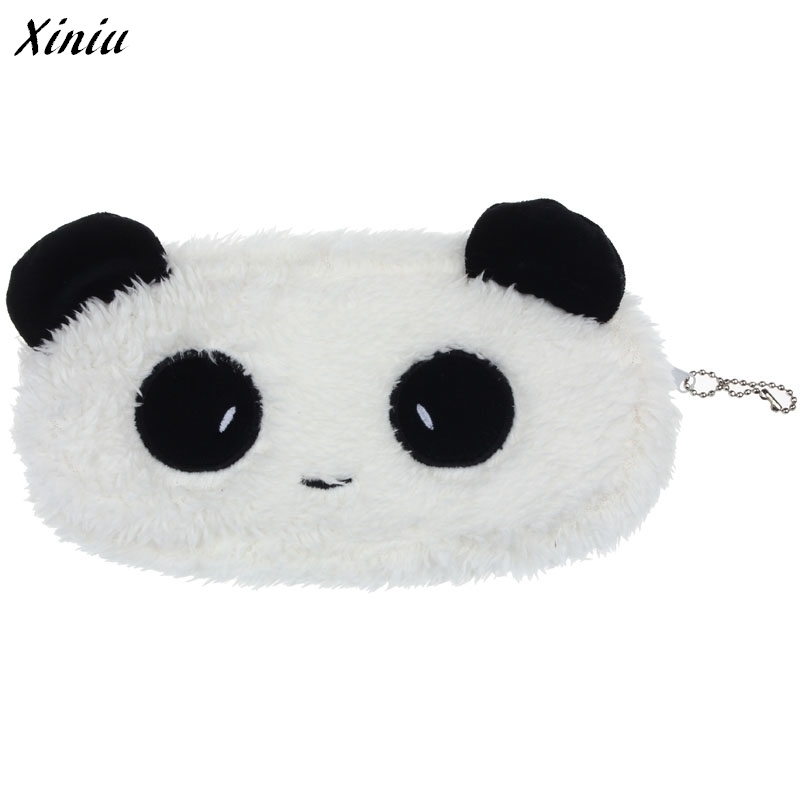 Xiniu Wallet Women Plus Velvet Cute Panda Pattern Coin Purse Billetera Mujer Mini Wallet Women Carteiras #1108<br><br>Aliexpress